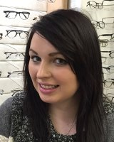 Courtney, optometric assistant in Gloucester