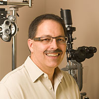 Dr. Andre St. George. family optometrist
