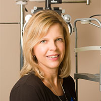Dr. Evelyn St. George, family optometrist