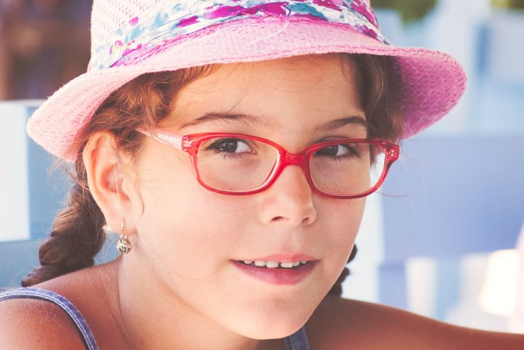 Choosing glasses for children